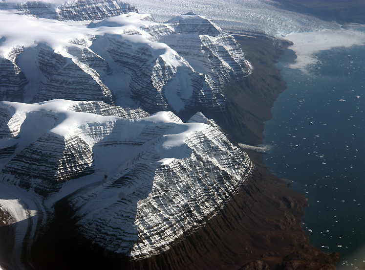 World Travel Photos :: Aerial views :: Greenland - a summertime