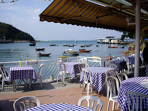 World Travel Photos :: China - Hong Kong - Lamma Island :: Hong Kong. Lamma Island - Restaurant