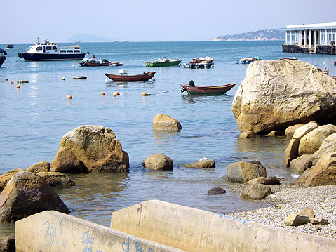 World Travel Photos :: China - Hong Kong - Lamma Island :: Hong Kong. Lamma Island - fishing boats