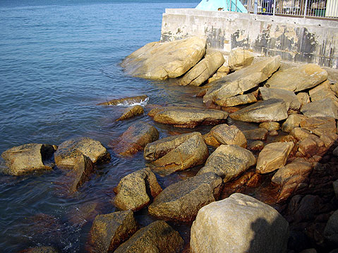 World Travel Photos :: China - Hong Kong - Lamma Island :: Hong Kong. Lamma Island - rocks