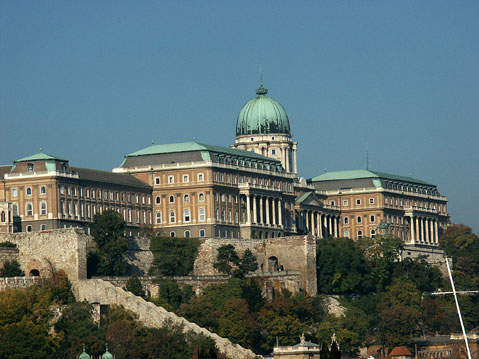 World Travel Photos :: Capitals of the world :: Budapest. The Castle in Buda