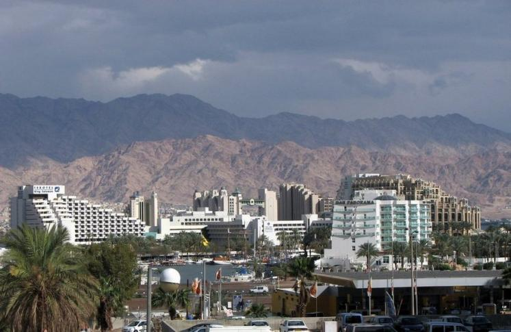 World Travel Photos :: Panoramic views :: Israel. Eilat - hotels area