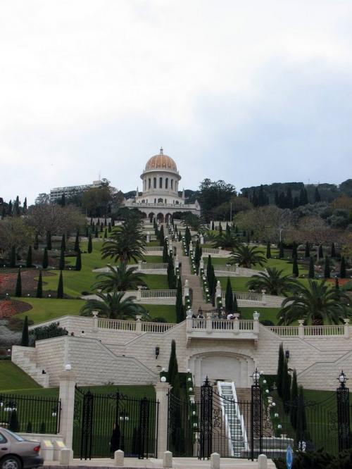 World Travel Photos :: Landmarks around the world :: Israel. Haifa.Bahai Temple (Shrine of the Báb) - UNESCO World Heritage Site
