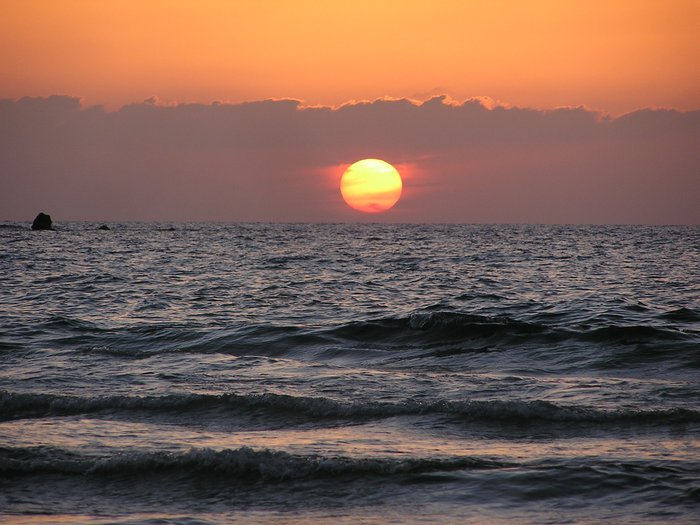 World Travel Photos :: Sea & ocean views :: Israel. Jaffa. Sunset