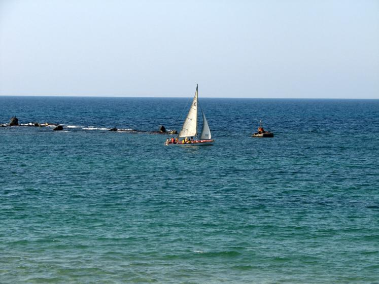 World Travel Photos :: Sea & ocean views :: Jaffa - a boat