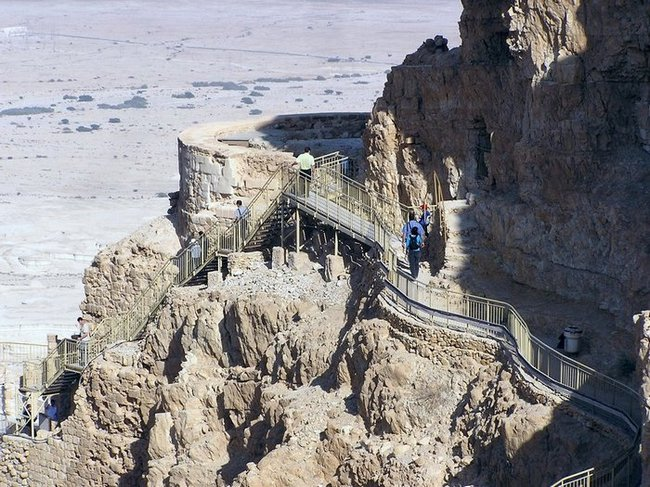 World Travel Photos :: UNESCO World Heritage Sites :: Israel. Masada - UNESCO World Heritage Site