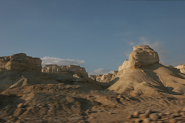 World Travel Photos :: The most beautiful natural spots :: Israel. Landscape of Negev Desert