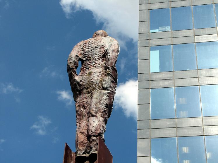 World Travel Photos :: Monuments & sculpture compositions :: Tel-Aviv. A statue