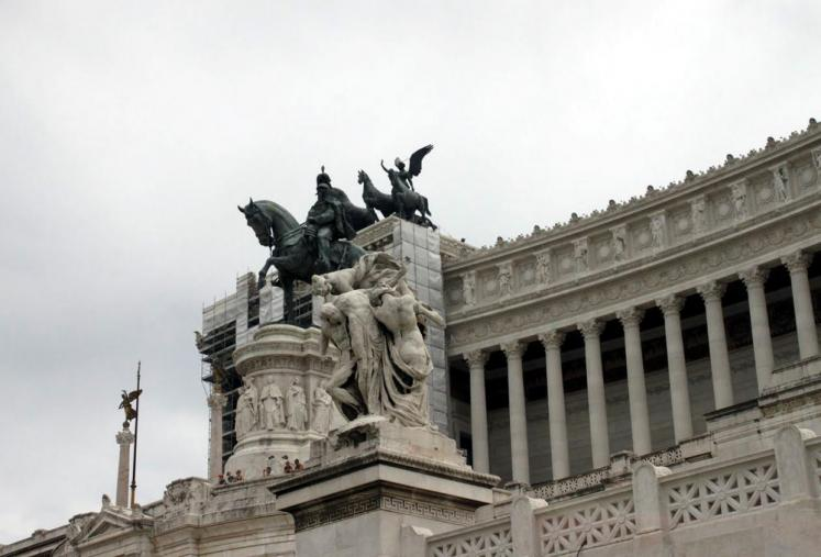 World Travel Photos :: Italy - Rome :: Roma. Piazza Venezia
