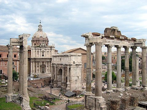 World Travel Photos :: Capitals of the world :: Rome. Roman Forum