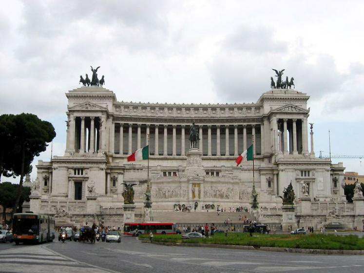 World Travel Photos :: Capitals of the world :: Rome. Piazza Venezia