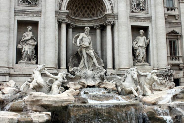 World Travel Photos :: Italy - Rome :: Rome. Trevi Fountain