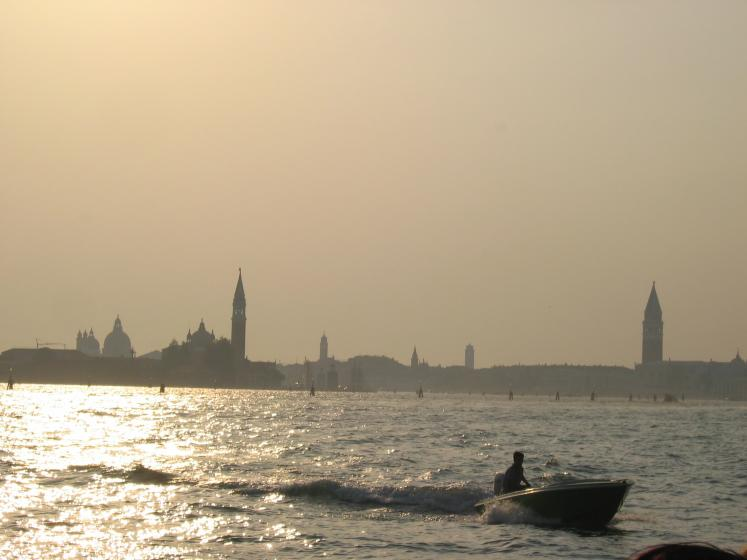 World Travel Photos :: Italy - Venice :: Venice. An early sunset
