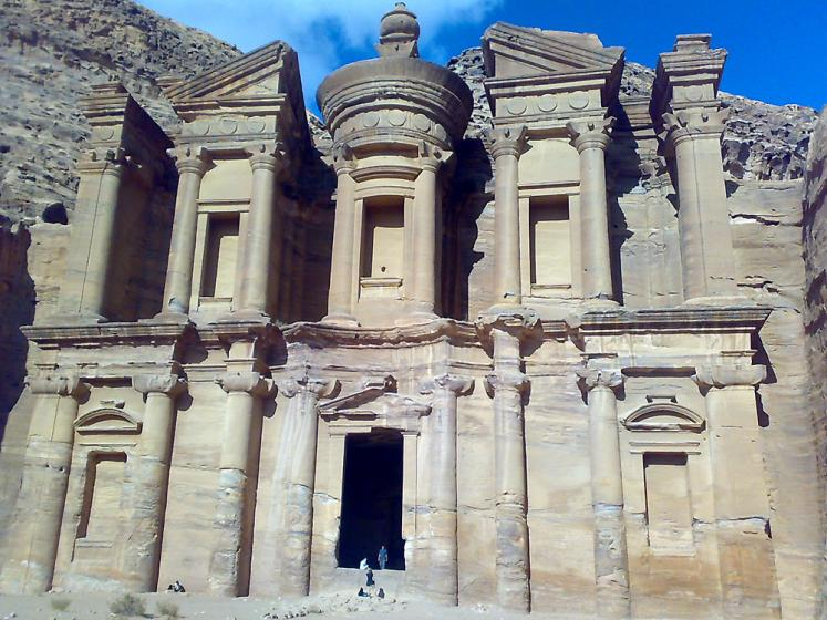 World Travel Photos :: Jordan - Petra :: Petra. The Monastery