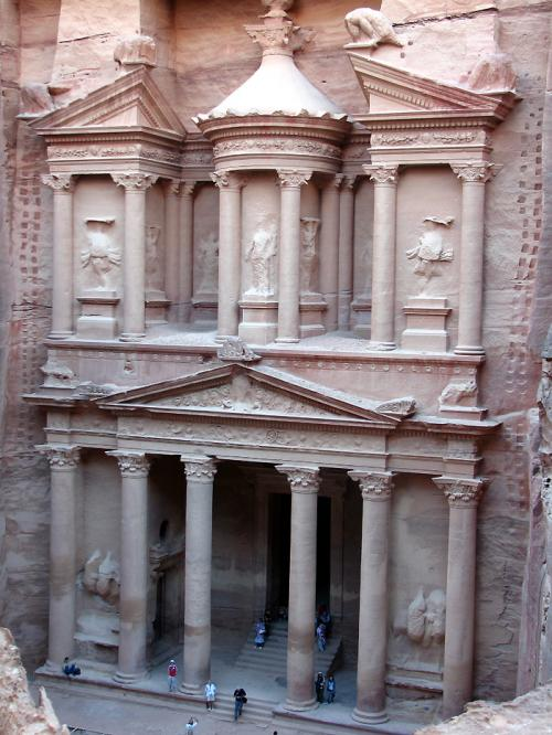 World Travel Photos :: Ancient world :: Petra. The Treasury (Al Khazneh)