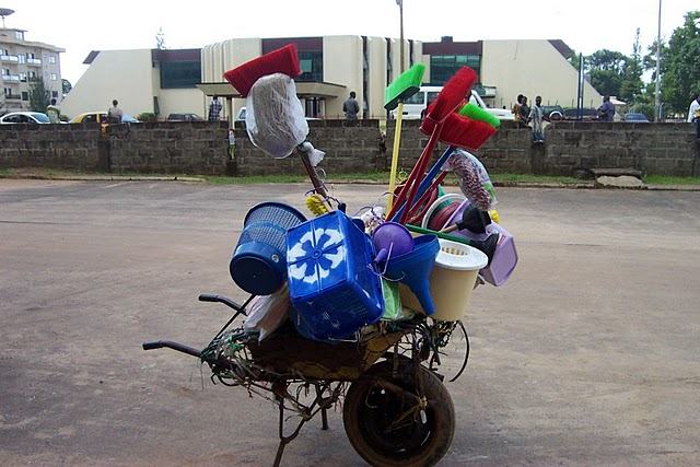 World Travel Photos :: Liberia - Misc :: African wal-mart.......loll