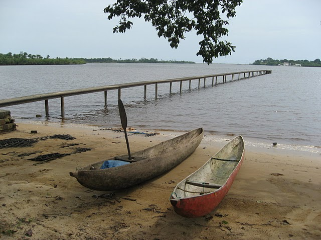 World Travel Photos :: Beaches :: FishTown @ Harper, Liberia