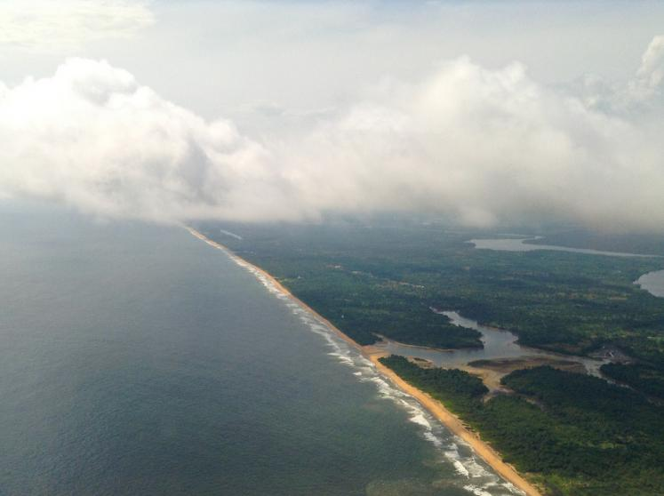 World Travel Photos :: Aerial views :: Liberia,Africa