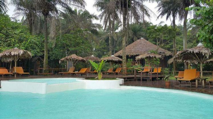 World Travel Photos :: Liberia - Monrovia :: Libassa eco Lodge. Marshall. Monrovia, Liberia
