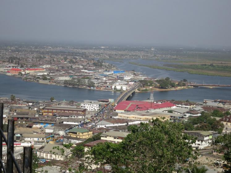 World Travel Photos :: Liberia - Monrovia :: Liberia, Africa - west part of the town