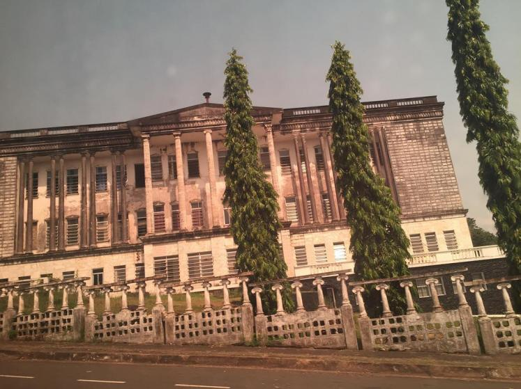 World Travel Photos :: Liberia - Monrovia :: Masonic Temple Lodge