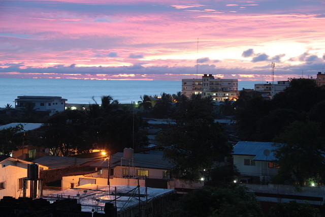 World Travel Photos :: Sunsets :: Monrovia, Liberia
