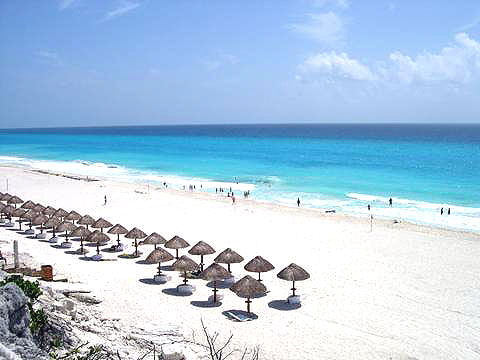 World Travel Photos :: Mexico - Cancun :: Cancun. Beach