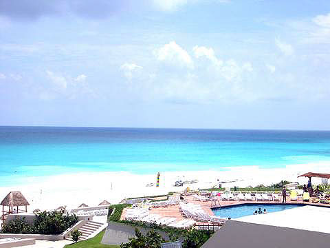 World Travel Photos :: Mexico - Cancun :: Cancun. View of the see