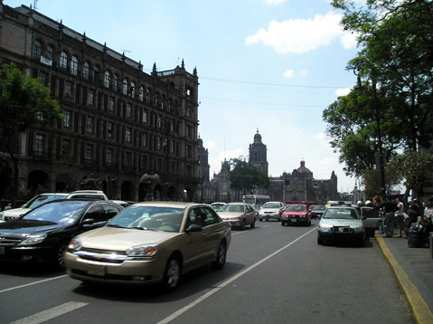 World Travel Photos :: Mexico - Mexico City :: Traffic in Mexico City