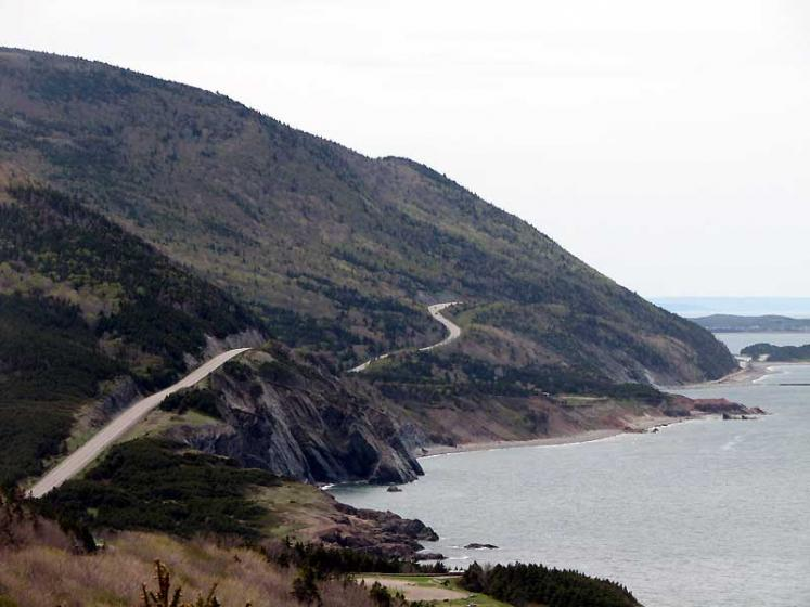World Travel Photos :: Roads :: Nova Scotia. Cabot Trail
