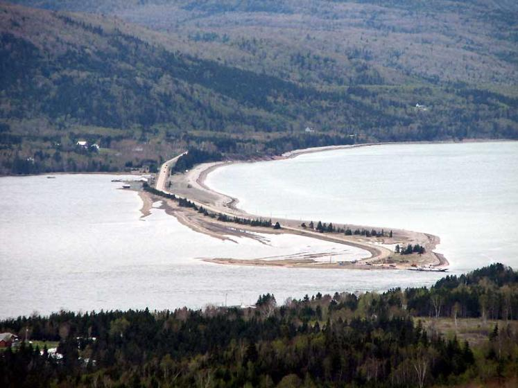 World Travel Photos :: Roads :: Nova Scotia. Cape Breton