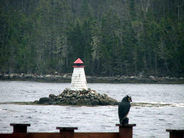 World Travel Photos :: Lighthouses :: Nova Scotia - a tiny lighthouse