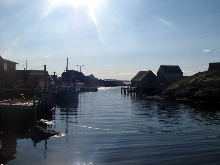 World Travel Photos :: Canada - Nova Scotia - Peggy´s Cove :: Sunny day in Peggy´s Cove