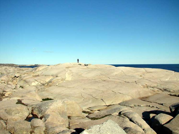 World Travel Photos :: Canada - Nova Scotia - Peggy´s Cove :: Peggy´s Cove - on the rocks