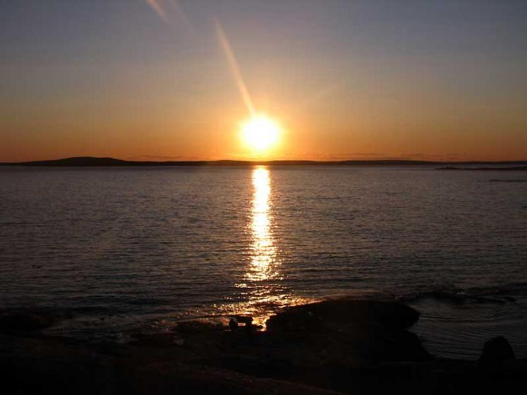World Travel Photos :: Canada - Nova Scotia - Peggy´s Cove :: Peggy´s Cove - sunset