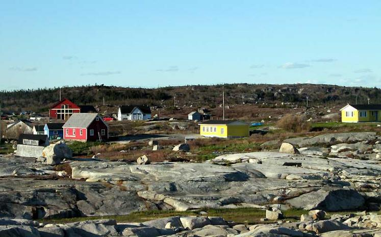 World Travel Photos :: Canada - Nova Scotia - Peggy´s Cove :: Peggy´s Cove - a village