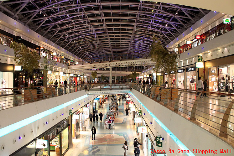 World Travel Photos :: Portugal - Lisbon :: Lisbon. Vasco Da Gama Shopping Mall