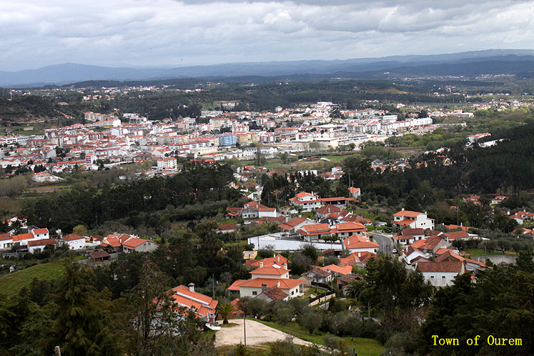 World Travel Photos :: Portugal - Ourem :: Portugal. Ourem - a city view