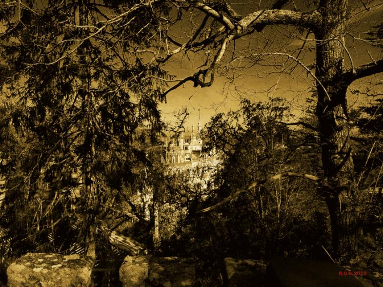 World Travel Photos :: Portugal :: Portugal. Quinta da Regaleira - a mystic park surrounding the palace