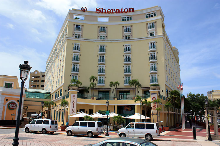 World Travel Photos :: Puerto-Rico - San Juan :: Puerto-Rico, San Juan - Hotel Sheraton