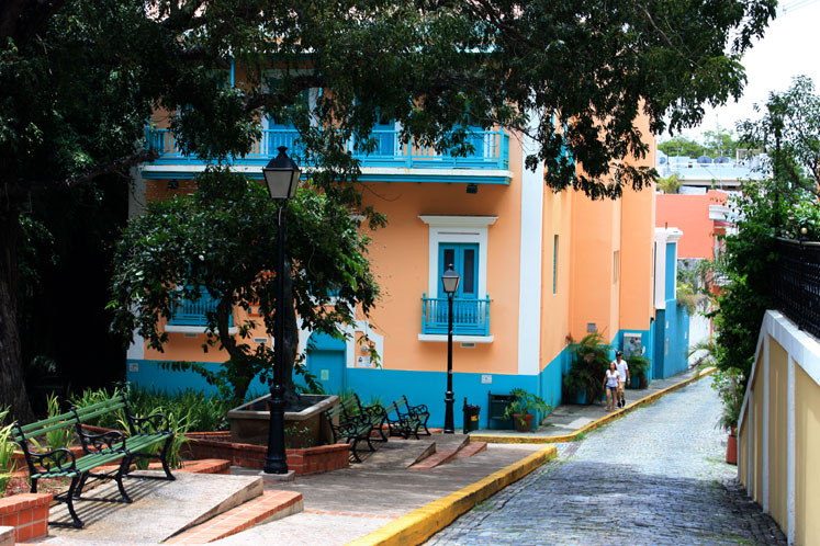 World Travel Photos :: Puerto-Rico - San Juan :: Puerto-Rico. San Juan - painted buildings