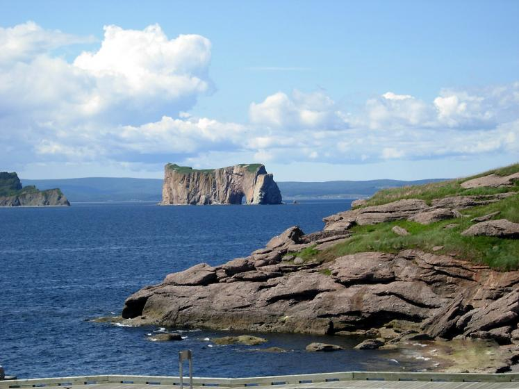 World Travel Photos :: Canada - Québec - Percé :: Percé Rock