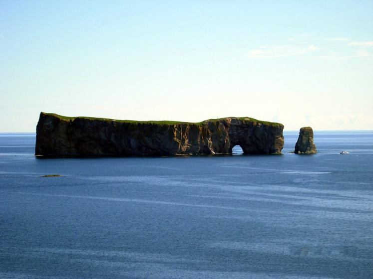 World Travel Photos :: Canada - Québec - Percé :: Quebec. Percé Rock