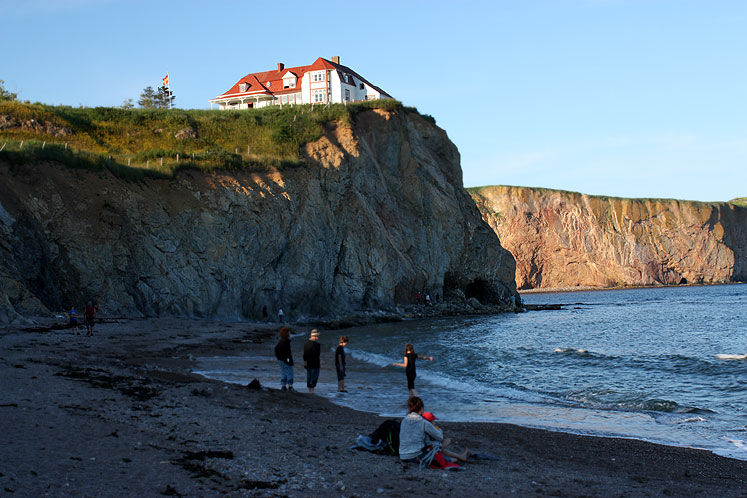 World Travel Photos :: Canada - Québec - Percé :: Percé - late afternoon