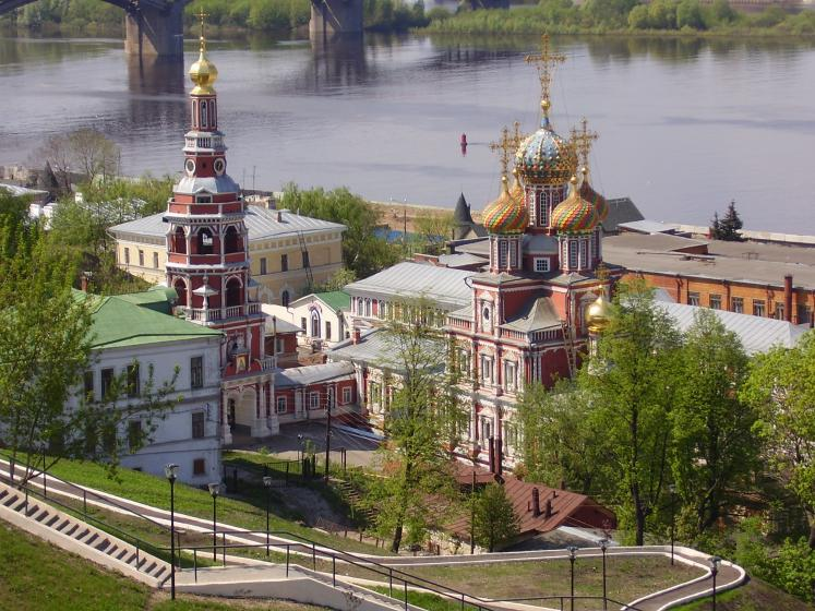 World Travel Photos :: Russia - Nizhny Novgorod :: Russia. Domes of Nizhny Novgorod