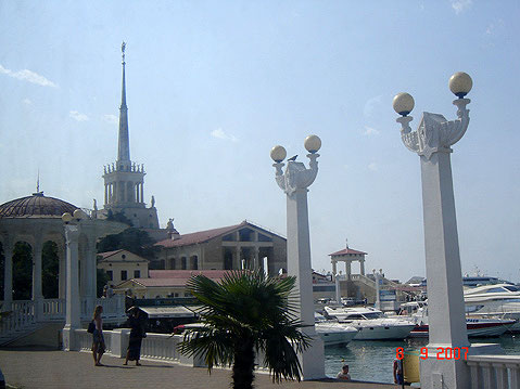 World Travel Photos :: Russia - Misc :: Sochi. Sea Port