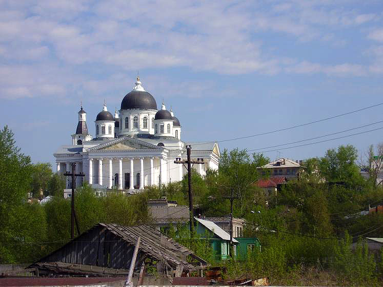 World Travel Photos :: Quiet small-town views :: A church in Arzamas, Russia