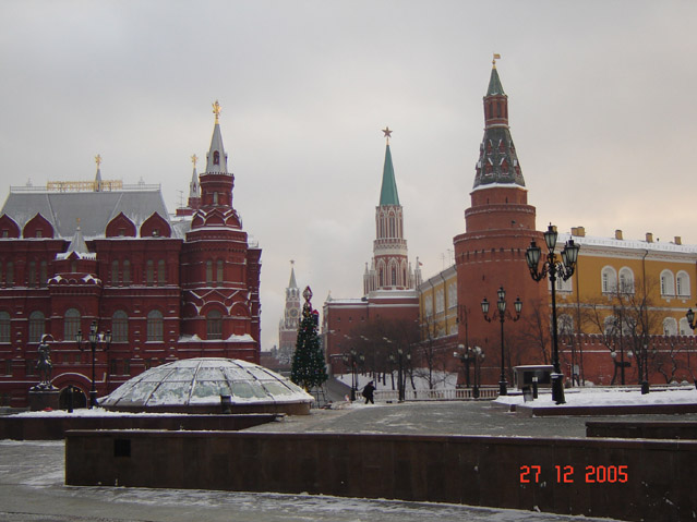 World Travel Photos :: Landmarks around the world :: Moscow. View on Red Square - UNESCO World Heritage Site