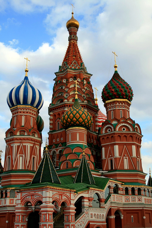 World Travel Photos :: Capitals of the world :: Moscow. St. Basil´s Cathedral