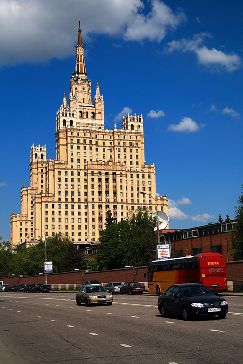 World Travel Photos :: Russia - Moscow :: Moscow. A residential building